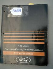 Ford 2008 Powertrain/Emissions Service Manual 6.4 Diesel (Inv.33568)