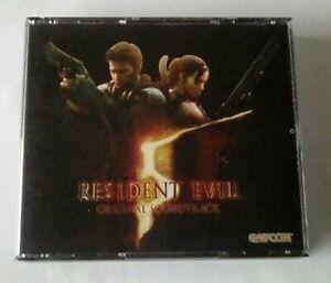 Resident Evil 5 Original Soundtrack OST Capcom 3 CD Set Biohazard