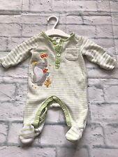 Unisex Baby Clothes - Newborn Velour Disney Dumbo Sleepsuit Baby Grow -