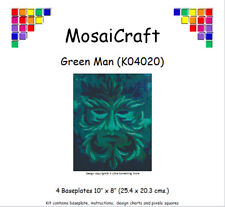 MosaiCraft Pixel Craft Mosaic Art Kit 'Green Man' Pixelhobby