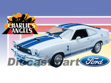 1976 FORD MUSTANG COBRA II CHARLIE'S ANGELS 1:18 GREENLIGHT 12880 FARRAH FAWCETT