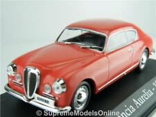LANCIA AURELIA 1953 CAR MODEL 1/43RD SIZE RED 2 DOOR COUPE VERSION R0154X{:}
