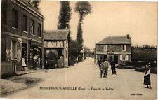 CPA Perriers sur Andelle - Place de la Valette (129254)