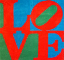 ROBERT INDIANA HAND SIGNED SIX FOOT CLASSIC LOVE