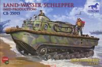Bronco 1/35 35015 Land-Wasser-Schlepper (LWS) Mid Hot