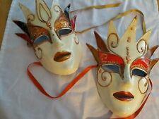 "Masquerade Masks M.Tile ""Maska"" Costume Theatre Festival Tile Marinkovic"