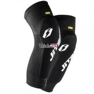 Jitsie Knee/Shin Dynamik Impact Protection Guards/Pads - Trials/Cycle/Offroad