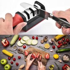 KNIFE SHARPENER Professional Ceramic Tungsten Kitchen Sharpening System Too TDC