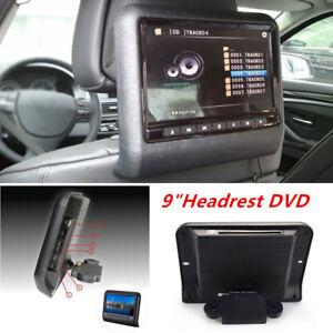 "9""Excellent Car Digital Monitor Video Headrest DVD Player Game MP4 USB FM IR SD"
