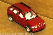 RED  BMW X5 1/72 SCALE DIE CAST NICE & NEW