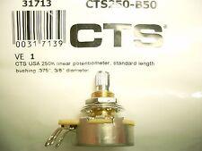 CTSPoti 10mm Potentiometer 250 kOhm, B linear