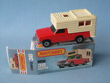 Lesney Matchbox Ford Camper RV with Picture Box