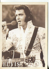 POST CARD OF ELVIS PRESLEY ALOHA FROM HAWAII CONCERT VIA SATELLITE JAN 14, 1973