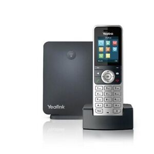 Yealink YEA-W53P IP DECT Phone bundle W53H with W60 base - High-performance SIP