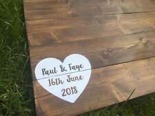 Rustic Personalised Alternative Wedding Guest Board Pallet Wooden Wood Sign