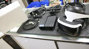 Sony PlayStation VR Virtual Reality Headset CUH-ZVR1 With Cords And Camera