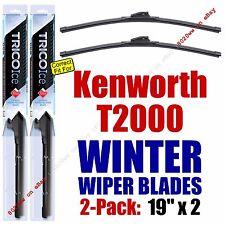 WINTER Wiper Blades 2pk Premium fit 1997-2005 Kenworth T2000 - 35190x2