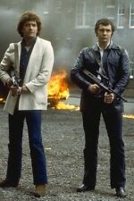 Martin Shaw Lewis Collins The Professionals 11x17 Mini Poster machine guns
