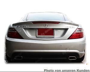 Mercedes-Benz R 172 SLK Roadster SPOILER HECKFLÜGEL AMG Typ A LIPPE * SILBER 775