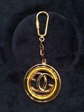Vintage Gucci Gold & Enamel KeyChain