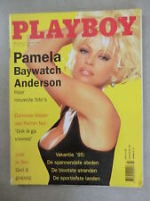 PLAYBOY (NL)  3 - 1995   PAMELA ANDERSON + COVER + 8 Seiten