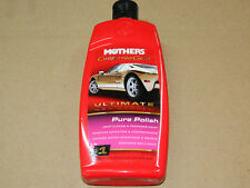 (1) MOTHERS 07100 CALIFORNIA GOLD ULTIMATE WAX SYSTEM PURE POLISH 16 OZ. BOTTLE