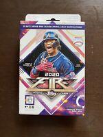 2020 TOPPS FIRE Baseball HANGER (RED BLAZE PARALLELS) 20 Cards/box