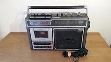 Sharp GF-3800 Vintage Rétro Cassette Radio Boom Box GRADE C