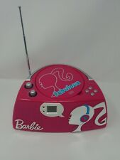 Barbie Glamtastic Boombox Radio Cd Player Cheap Clean Tested Euc includes 6 Cs