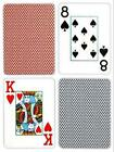 Copag Poker Size Jumbo Index Playing Cards (Blue Red Export Setup), New, Free Sh