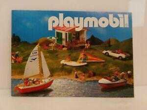 Vintage 1988 Playmobil Mini Catalog Brochure Germany