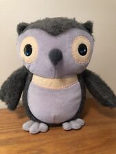 Kohls Cares For Kids Owl Plush Toy Hootie Aesops Fables Stuffed Animal No tag