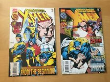 PROFESSOR XAVIER AND THE X MEN 1 & 2, SEE PICS FOR GRADE, 1ST PRINT