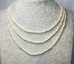 Freshwater seed Pearl Necklace 354