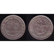 50 Reichspfennig 1933 J, Raro