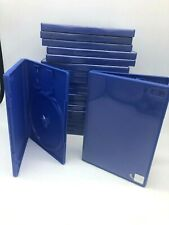 20 X  Official PS2 Empty Replacement Blue Game Cases Good used condition