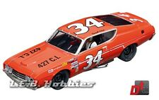 Carrera Evolution Ford Torino Talladega Wendell Scott 1:32 analog slot car 27521