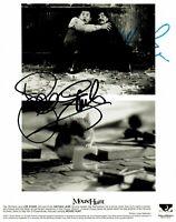 """Mouse Hunt"" Nathan Lane & Lee Evans Hand Signed 8X10 B&W Photo Todd Mueller COA"