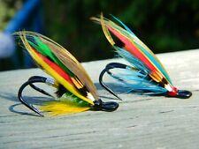 Assortment of Atlantic Salmon wet flies/ Double hook size #6 / Quantity of 2