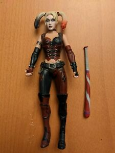 "DC Direct Batman Arkham City Series 1 HARLEY QUINN 6"" Action Figure Loose"