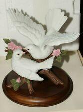 Lenox 1991 Love's Promise Figurine Pair of Doves fine porcelain