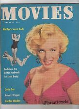 RARE!  MOVIES MAGAZINE 1953 MARILYN MONROE STUNNING on Cover and INSIDE STORY