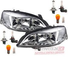 kompatibel zu Opel Astra G Scheinwerfer Set mit allen Leuchtmitteln li + re ab 0