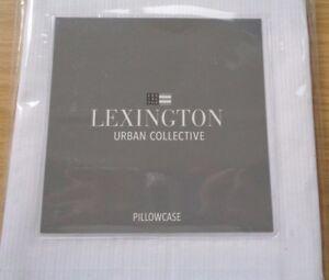 LEXINGTON URBAN COLLECTIVE STANDARD PILLOWCASE 100% COTTON IN WHITE