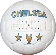 CHELSEA - Vintage Soccer Ball 1966 -- 100% leather - Free shipping in USA