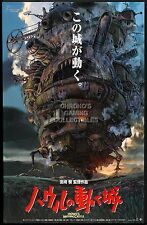 RGC Huge Poster - Howl's Moving Castle Anime Poster Glossy Finish - STG007