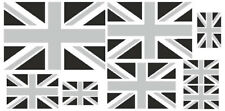 Kfz-Aufkleber Flagge Union Jack grau Set RA