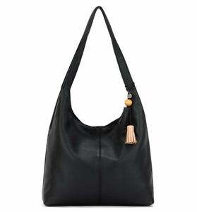 The Sak Huntley Leather Hobo style Black $199