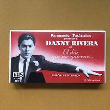 Danny Rivera El Dia Que Me Quieras VHS 1986 Panasonic Promo Puerto Rico NMINT