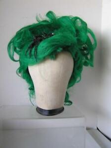 Custom MARIE Antoinette POUF WIG GREEN Mardi Gras Drag Queen Theater Parade